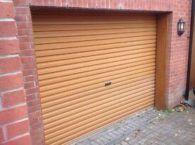 Henderson Electric Glidermatic Garage Door