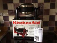 Kitchen aid waffle baker