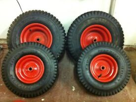 Lawn tractor wheels & tyres