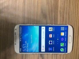 Samsung Galaxy S4 white unlocked 16 gb