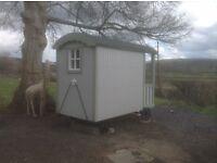 Children's shepherds hut play space