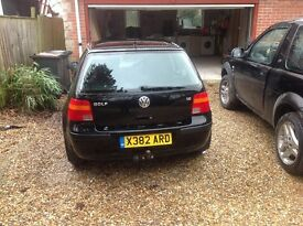 Vw golf.1.6 new clutch,brakes and rear bushes