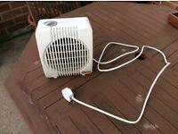 Small Portable Electric Fan Heater