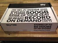 Sky tv boxes 500 GB HDMI wifi 250GB storage