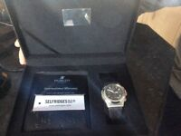 Hublot gents watch stainless steel black strap boxed make beautiful xmas present,been serviced,