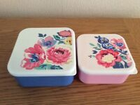 Brand new Cath kidston lunch boxes