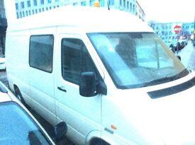 Rustique camper van , wood conversion seats 3