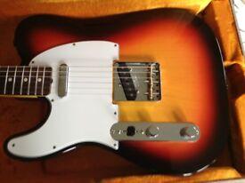 Left handed Fender Custom Shop Telecaster