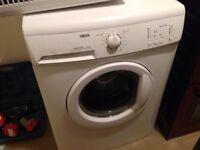 Zanussi washing machine about 3/4yrs old good working order