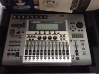Boss BR 1600 CD digital recorder with 40 Gig hard drive and flight case as new home use only.