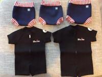 Various baby swimwear