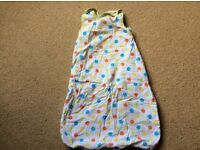 Unisex boys girls grobag 0-6 months 2.5 tog great condition