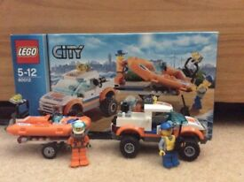 Lego City Coastguard 4x4 and Diving Boat 60012