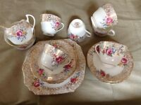 Trentham fine bone China tea set - vintage