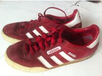 red gazelle adidas trainers