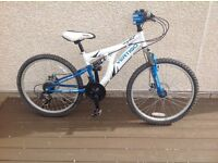 Vertigo Dual Suspension Mountain Bike