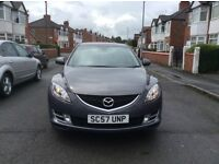 2008 MAZDA 6 TS2 5dr hatchback petrol manual 1 owner low mileage 6 speed full service history £2850