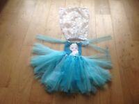 Disney Frozen Elsa Dress Age 2 - 3 years Dress up costume