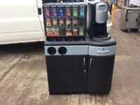 Flavia Creation 400 Coffee Machine, Cabinet and Base