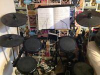 Electronic drum kit DM6 -needs repair!! Please read description