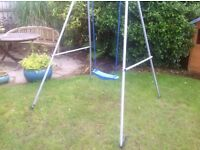 Tp swing with child and baby seat