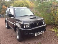 Jimny Suzuki Automatic Petrol 2013 Black 1.3. Excellent condition. One female owner.