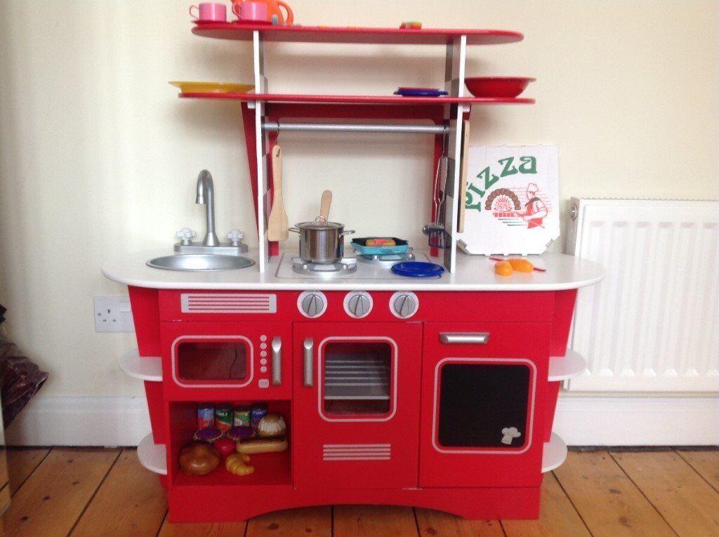 Elc Wooden Kids Kitchen Play Set Excellent Condition In Westbury