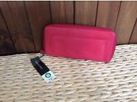 Pink unused purse