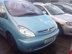 2004 CITROEN XSARA PICASSO DESIRE 2.0 DIESEL BREAKING FOR PARTS ONLY POSTAGE AVAILABLE NATIONWIDE