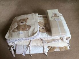 Mothercare 'Loved So Much' Baby Bedding Set for Cotbed