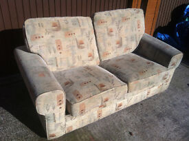 Two Seater Sofa folding Sofabed setee £69 ono - free delivery
