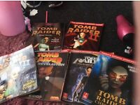 Tomb raider walk through and guide books