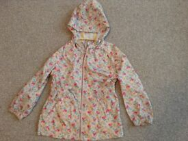 NEXT Girls Showerproof Jacket (Age 5) Like New!