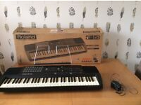 Roland e14 intelligent keyboard with stand