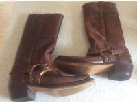 Original Wrangler USA cowboy boots.