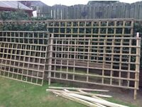 Trellis 4 Sections - 6 ft Wide X 3ft High