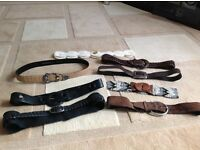 Mixed ladies Leather belts