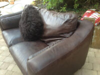 QUALITY Leather Sofa (s) - Boraca Furniture. Marlow - Expensive items * Delivery may be pos
