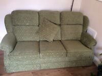 Parker Knoll 3 seater and 2 chairs