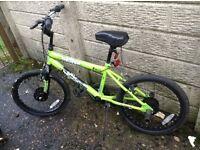 2 x children's BMX bikes