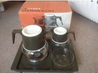 1970's Pyrex Hot Beverage Set looking to be brought out and used in today's modern times