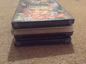 15 Disney DVDs, 9 unopened in cellophane and 6 watched once BARGAIN