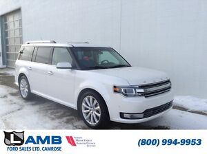2016 Ford Flex Limited 303A AWD EcoBoost Navigation Moonroof Act