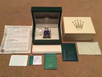 Rolex Bi Metal Submariner with Box and Papers