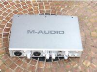 M audio music interface ( Apple compatible)