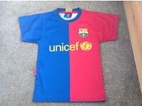 Messi football top, age 2