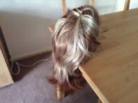 Ladies shoulder length wig