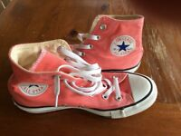 Converse boots for a girl