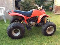 Ram 170cc quad, helmets/goggles included, may deliver.