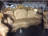 Fabulous french Rococo style 3 piece suite